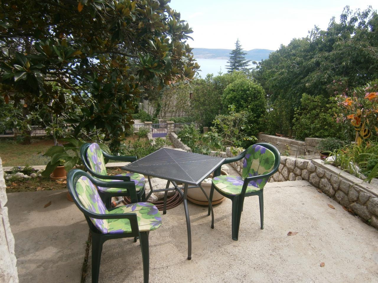 eg unterkunft f r 2 4 im dalmatischen meerblick steinhaus. Black Bedroom Furniture Sets. Home Design Ideas