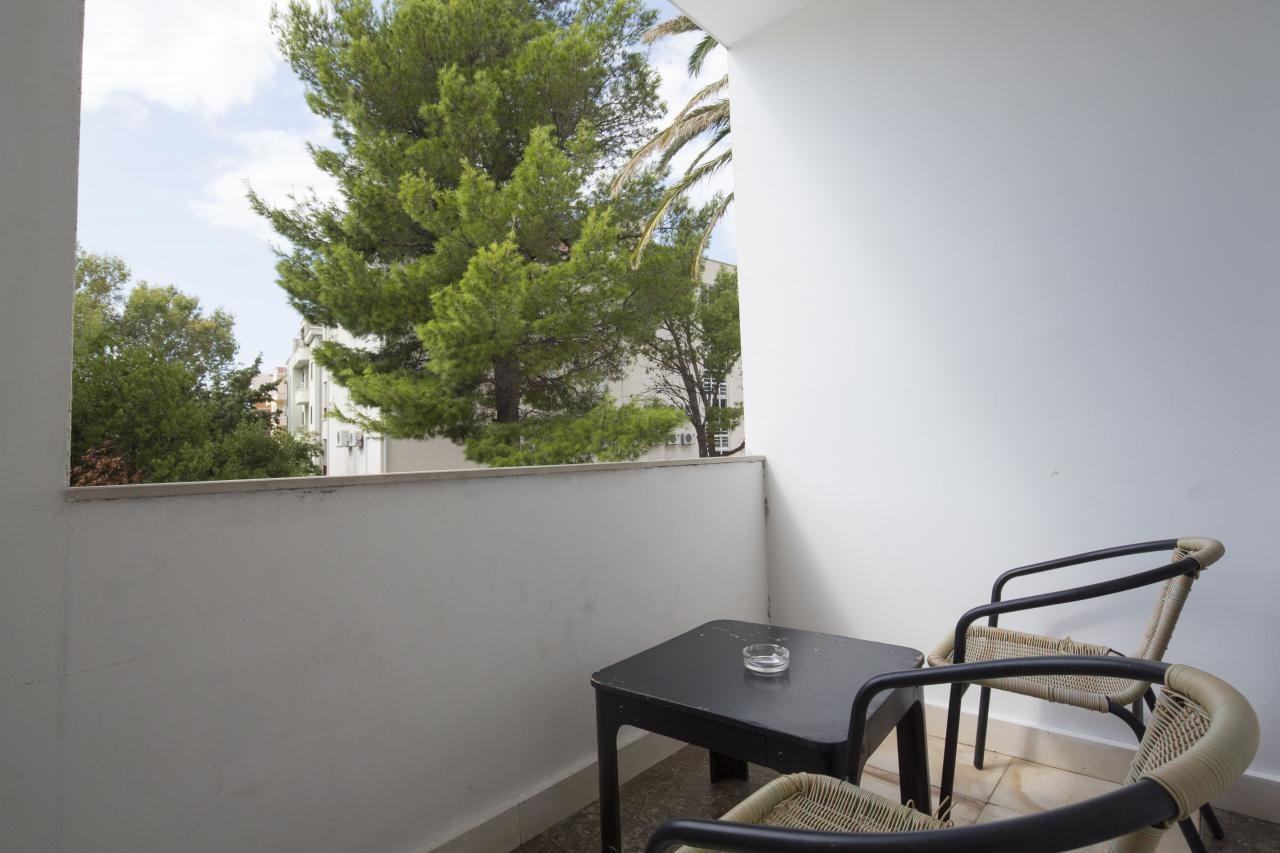 Doppelzimmer Parkseite Balkon  (2-3 Personen)