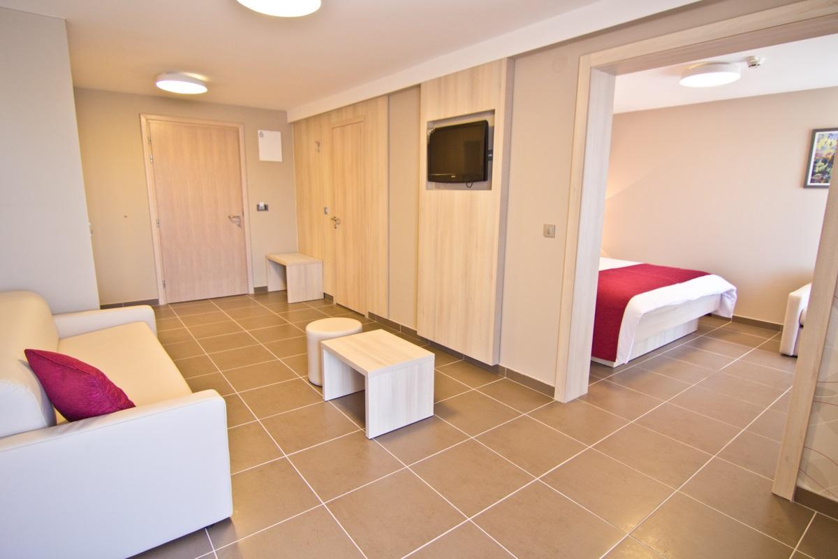 Suite Balkon  (4-5 Personen)
