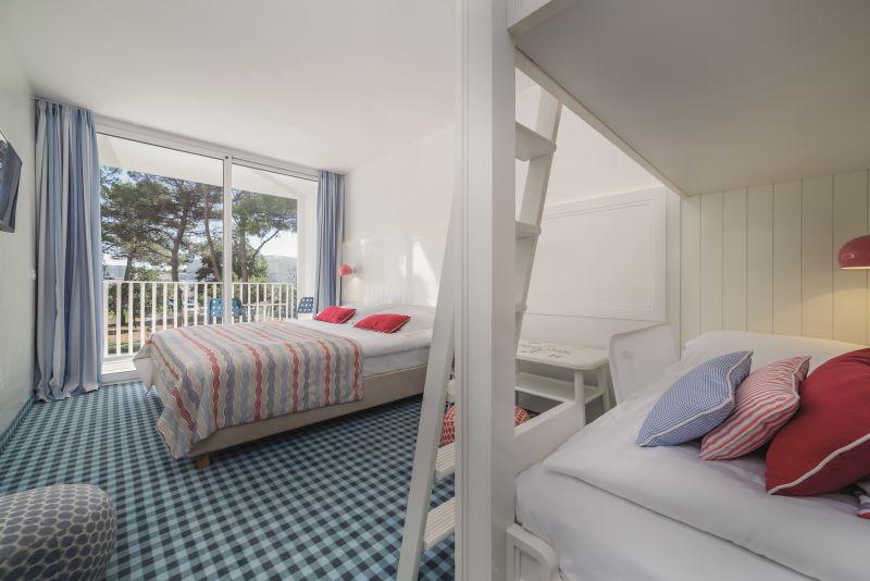 Familienzimmer Parkseite Balkon  (4-5 Personen)