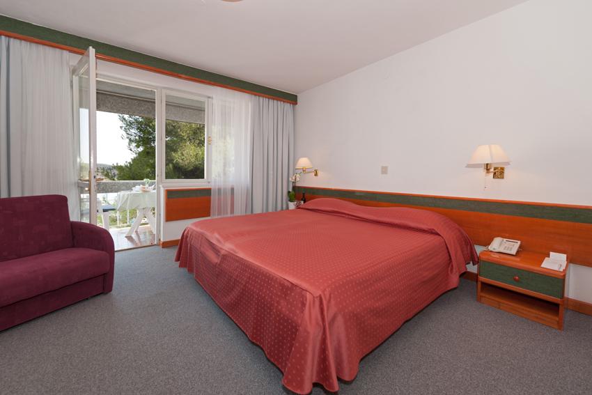 Doppelzimmer (superior) Parkseite Balkon  (2 Personen)