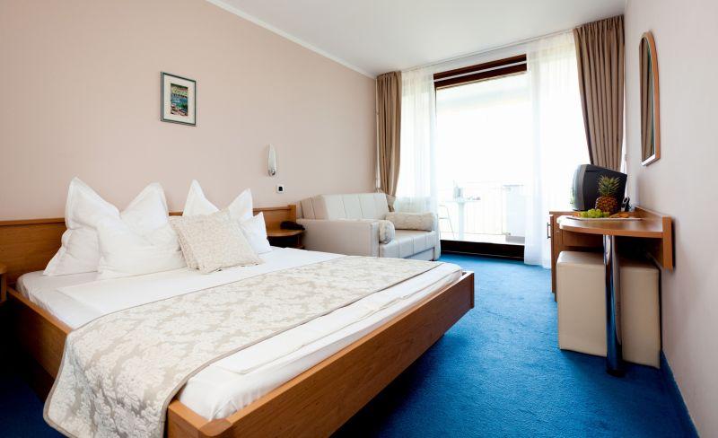 Doppelzimmer (comfort) Meerseite Balkon  (2 Personen)