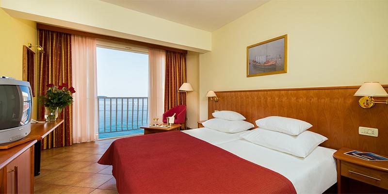Doppelzimmer (premium) Meerseite  (2-3 Personen)