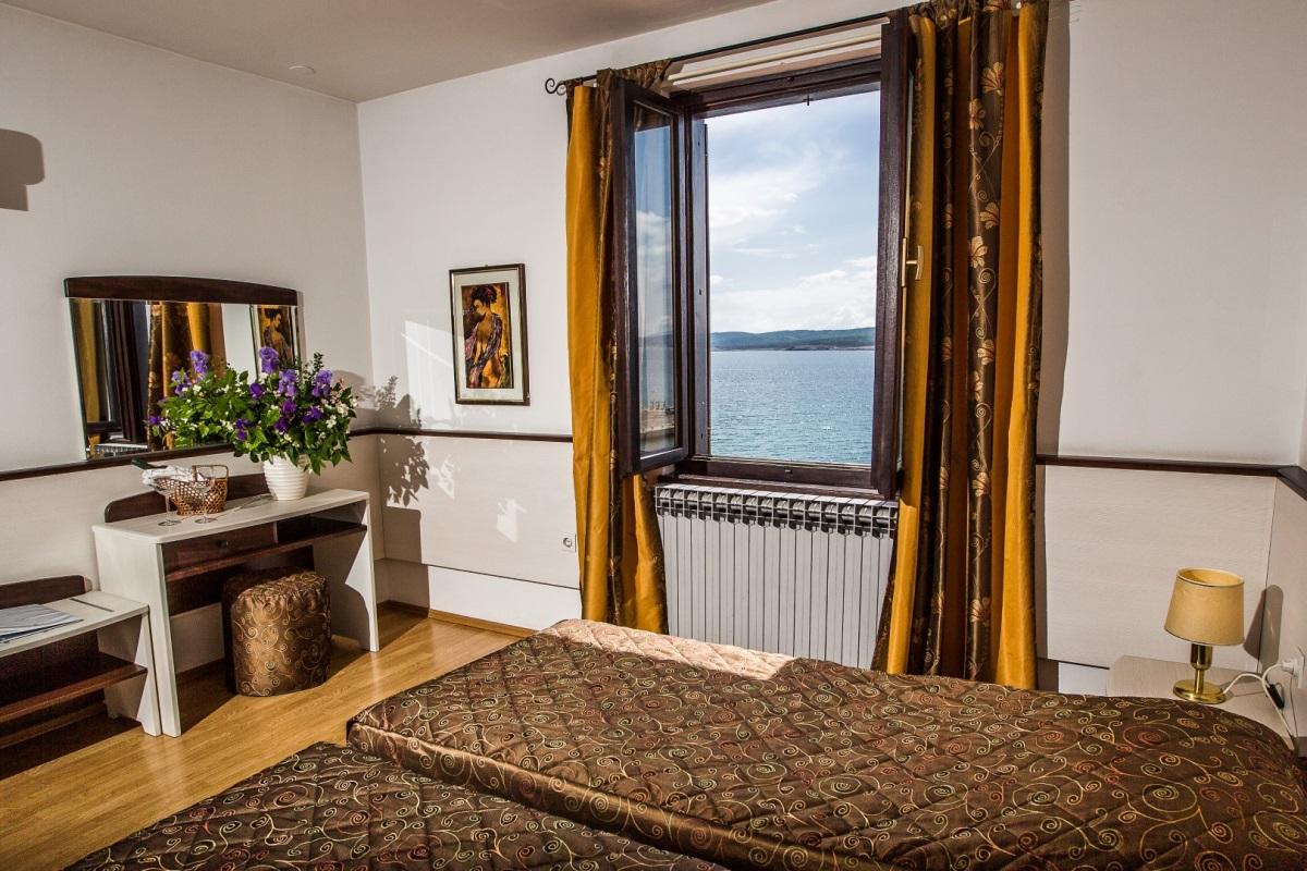 Doppelzimmer Meerseite ohne Balkon  (2-3 Personen)