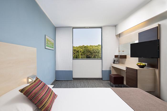 Einzelzimmer Parkseite ohne Balkon  (1 Person)