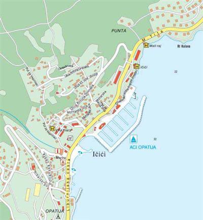 Karte von Icici