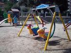 Kinderspielplätze am Strand von Icici