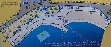 Strandkarte von Icici