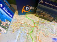 Anreise Dalmatien über Ljubljana