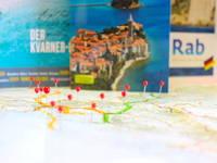 Routenplaner Kvarner Bucht, Kroatien