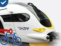 Fahrradtransport - Kroatische Bahn