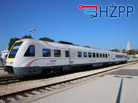 Bahnverbindungen in Kroatien