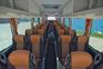 Bus Innenraum - Flughafenshuttle Fils.hr