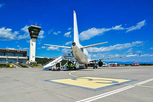 Flughafen Rijeka, Kroatien