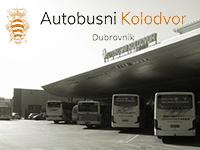 Busbahnhof Dubrovnik, Kroatien