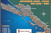 Karte - Buslinien Dubrovnik West