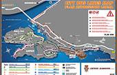 Karte - Stadtbuslinien Dubrovnik