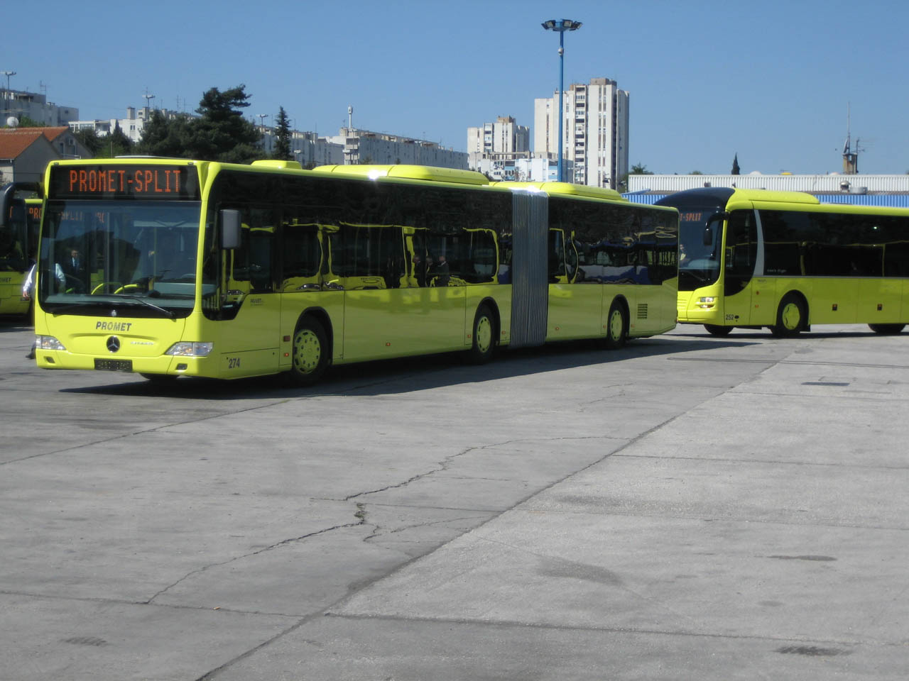 Bus Split Ab Split Mit Dem Bus