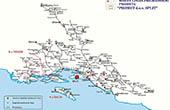 Karte Lokale Buslinien Umland Split