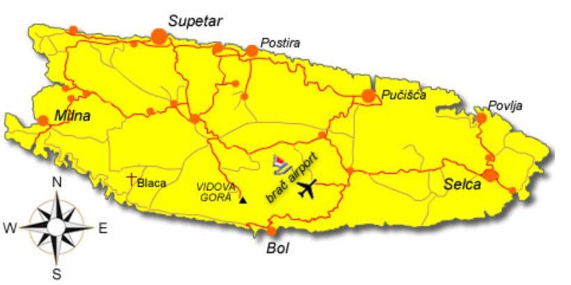 Flughafen Brac Kroatien Reisefuhrer