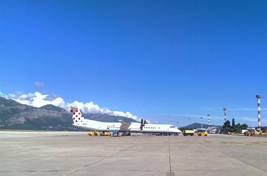 Flughafen Dubrovnik, Kroatien