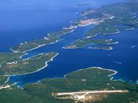 Flughafen Insel Losinj, Kroatien