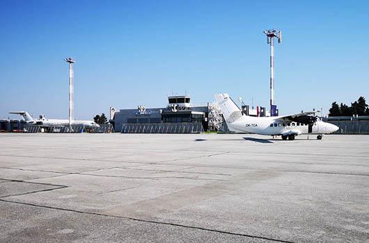 Flughafen Osijek, Kroatien