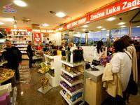Duty Free Shop, Flughafen Zadar