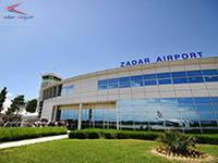 Flughafen Zadar, Kroatien