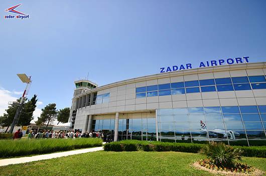 Flughafen Zadar, Zemunik Donji, Kroatien