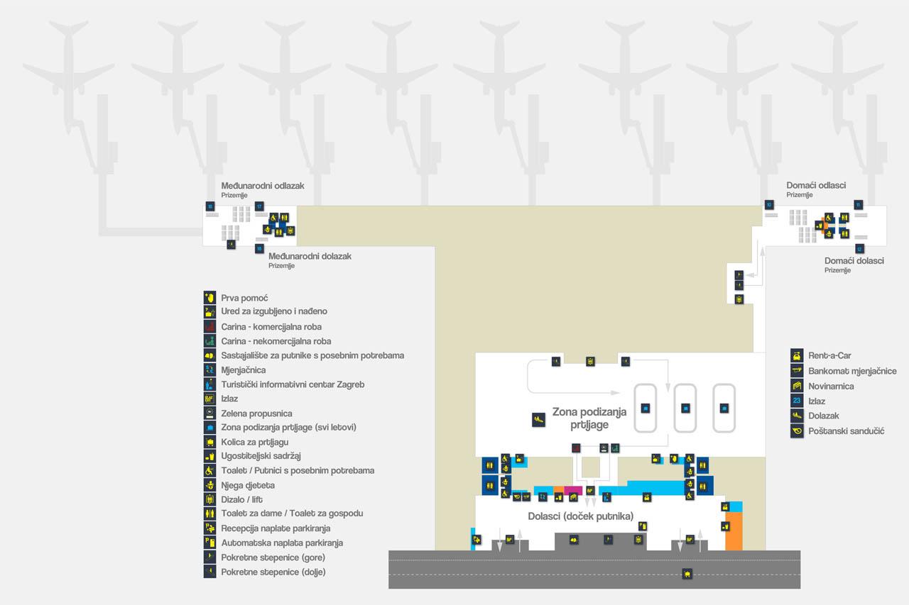 Flughafen Zagreb Kroatien Reisefuhrer