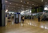 Flughafengebäude im Flughafen Zagreb