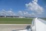 Flughafen Pula, Landung