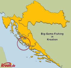 Big Game Fishing Karte