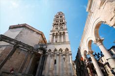 Historische Gebäude in Kroatien