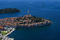 Bilderbuchtstadt Rovinj in Kroatien