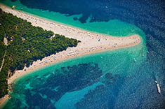 Kroatien - Strand Zlatni rat
