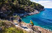 Radtour, Kroatien