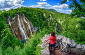 Veliki Slap, Plitvicer Seen