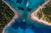 Bucht Pakleni otoci, Hvar