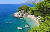 Strand Podrace Brela, Dalmatien