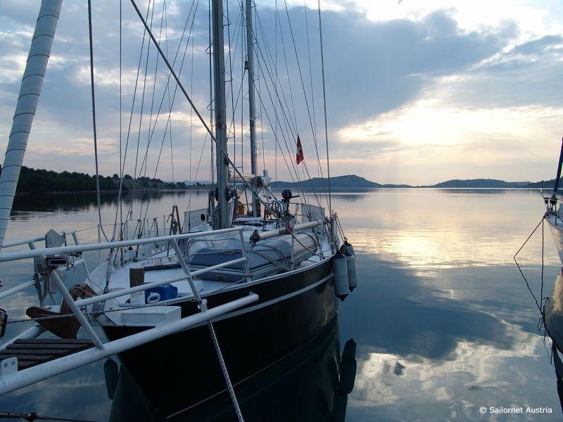 Bootsfahrt in Kroatien