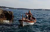 Filmszene - Boot fahren