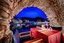 Restaurant Jastozera mit Blick auf den Hafen