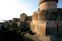 Stadtmauer Dubrovnik - Drehort Robin Hood Origins, Foto: Sergio Gobbo