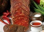 Wurst, Gemüse und Gewürze aus Kroatien