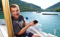 Anthony Bourdain Tour - Limski Kanal - Muschelzucht Emil Sosic