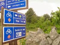 Radtour zum Baculov Dvor in Primosten Burnji