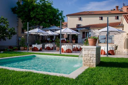 Gourmetrestaurant San Rocco - Brtonigla, Istrien, Kroatien