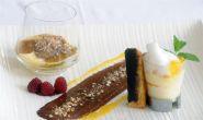 Dessert im Restaurant Laurus